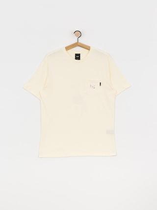 T-shirt HUF Central Park Pocket (cream)
