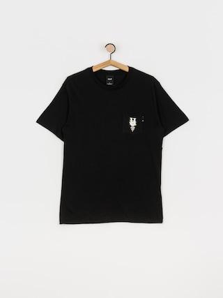 T-shirt HUF Central Park Pocket (black)