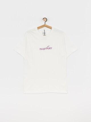 T-shirt Pass Port Lavender (white)