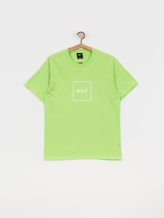 T-shirt HUF Essentials Box Logo (green)