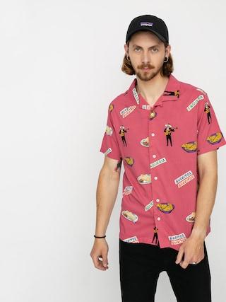 Koszula RVCA Hot Fudge (pink)