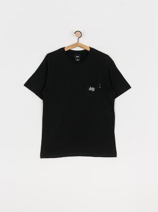T-shirt HUF Haze Pocket (black)