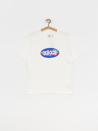 T-shirt adidas Oval (white)