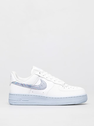 Buty Nike Air Force 1 07 Wmn (white/hydrogen blue laser blue)