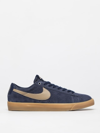 Buty Nike SB Blazer Low Gt (midnight navy/khaki gum light brown)