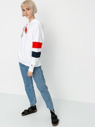Bluza z kapturem Champion Sweatshirt HD 112758 Wmn (wht)