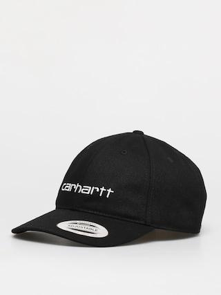Czapka z daszkiem Carhartt WIP Carter ZD (black/white)