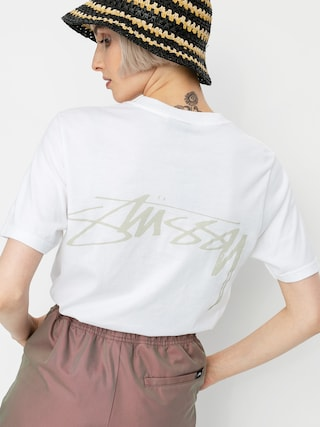 T-shirt Stussy Smooth Stock Wmn (white)