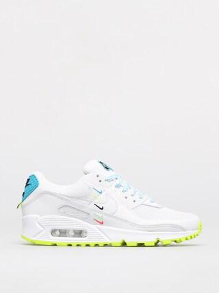 Buty Nike Air Max 90 Se Wmn (white/white blue fury volt)