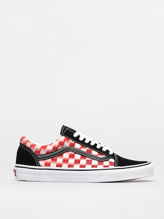Buty Vans Old Skool (blur check/true wht/red)
