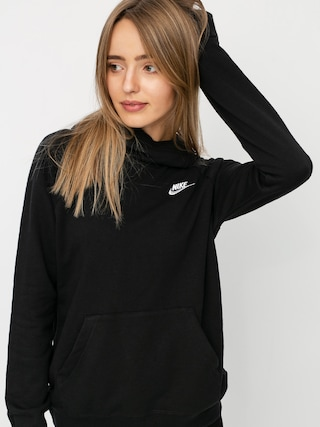 Bluza z kapturem Nike Sportswear Essential HD Wmn (black/white)