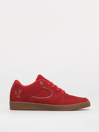 Buty eS Accel Slim (red/gold)