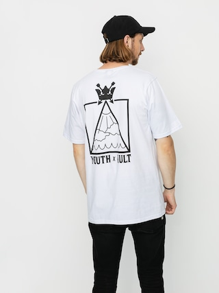 T-shirt Youth Skateboards X Kult Wade (white)