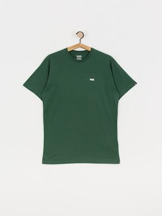 T-shirt Vans Left Chest Logo (pine needle/white)