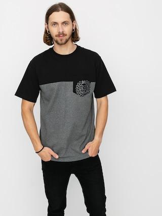 T-shirt MassDnm Pocket Base (dk heather grey)