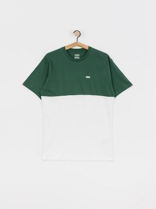 T-shirt Vans Colorblock (white/pine needle)