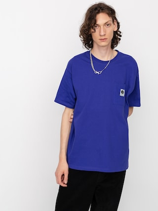 T-shirt Polar Skate Pocket (blueish purple)