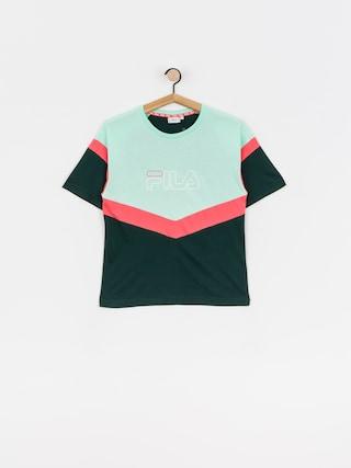T-shirt Fila Laeta Wmn (ponderosa pine/cabbage/calypso coral)