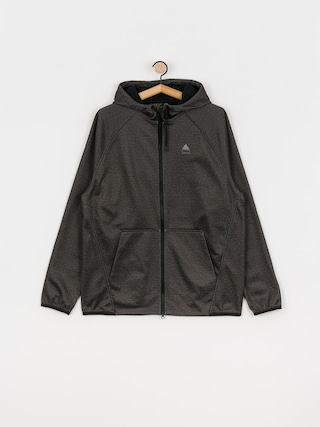 Bluza aktywna Burton Crown Weatherproof ZHD (true black heather)