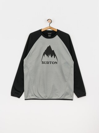 Bluza aktywna Burton Crown Weatherproof (gray heather/true black)