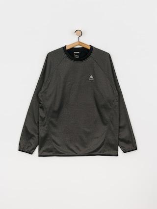 Bluza aktywna Burton Crown Weatherproof (true black heather)
