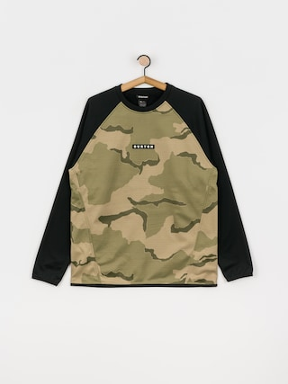 Bluza aktywna Burton Crown Weatherproof (barren camo/true black)