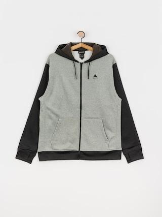 Bluza aktywna Burton Oak ZHD (gray heather/true black)
