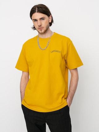 T-shirt Carhartt WIP University Script (colza/black)