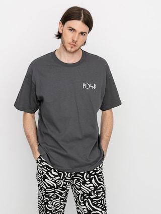 T-shirt Polar Skate Stroke Logo (graphite)