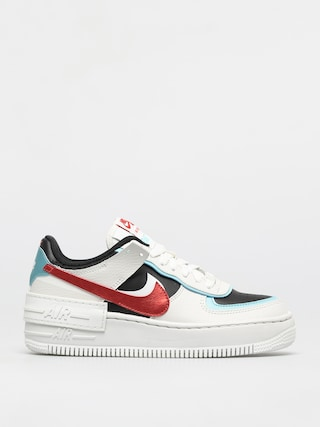 Buty Nike Af1 Shadow Wmn (summit white/chile red bleached aqua)