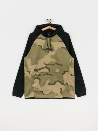 Bluza aktywna Burton Crown Weatherproof HD (barren camo/true black)
