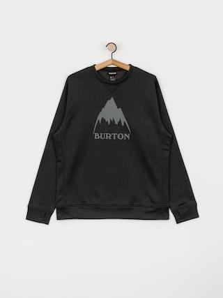 Bluza aktywna Burton Oak (true black heather)