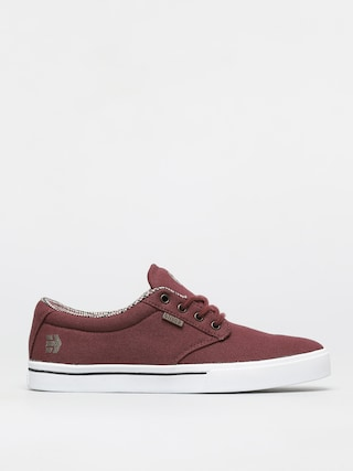 Buty Etnies Jameson 2 Eco (burgundy/tan/white)