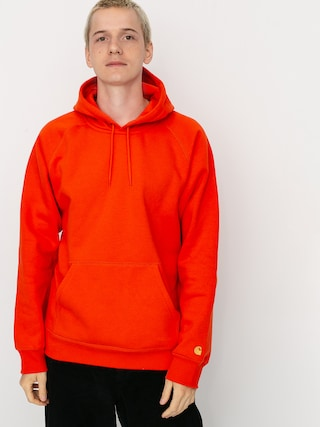 Bluza z kapturem Carhartt WIP Chase HD (safety orange/gold)