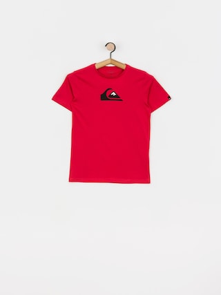 T-shirt Quiksilver Comp Logo (american red)