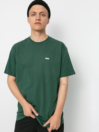 T-shirt Vans Left Chest Logo (pine needle/white)