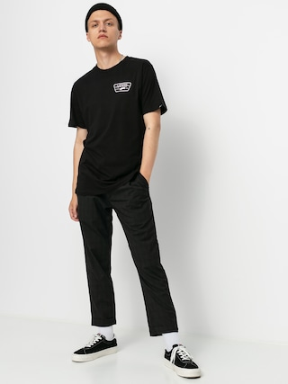 T-shirt Vans Full Patch Back (black/cool pink)