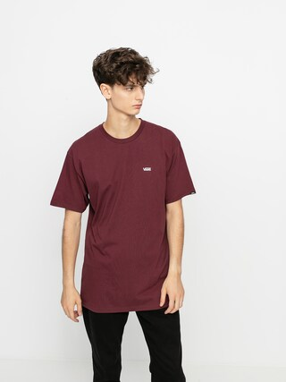 T-shirt Vans Left Chest Logo (port royale/white)