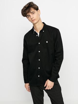 Koszula Carhartt WIP Madison (black/wax)