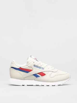 Buty Reebok Classic Leather Wmn (chalk/vecred/vecblu)