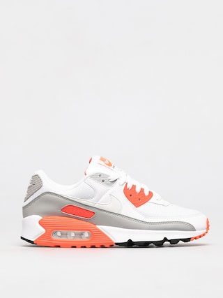 Buty Nike Air Max 90 (white/white hyper orange lt smoke grey)