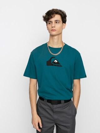T-shirt Quiksilver Comp Logo (blue coral)