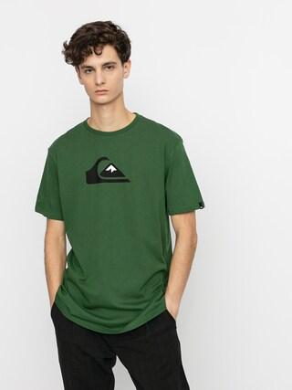 T-shirt Quiksilver Comp Logo (greener pastures)