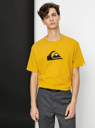 T-shirt Quiksilver Comp Logo (honey)
