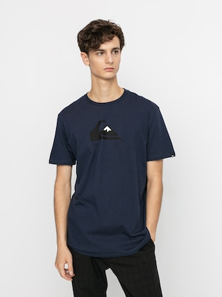 T-shirt Quiksilver Comp Logo (parisian night)