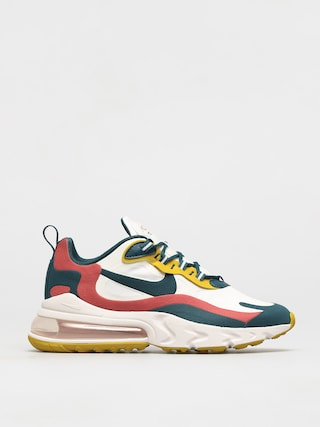 Buty Nike Air Max 270 React (summit white/midnight turq pueblo red)