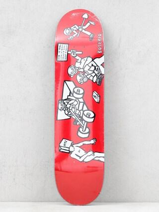 Deck Polar Skate Nick Boseiro Cash Is Queen (red)