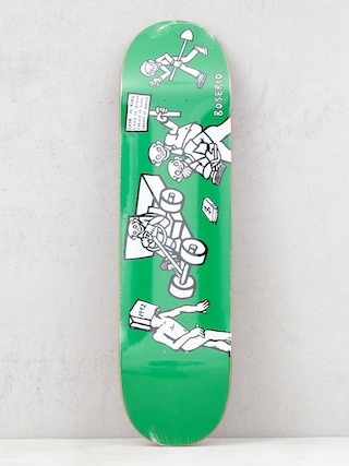 Deck Polar Skate Nick Boseiro Cash Is Queen (green)