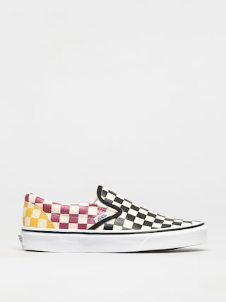 Buty Vans Classic Slip On (glitter check/multitrwht)