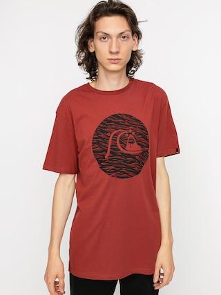 T-shirt Quiksilver Jungle Bubble (henna)